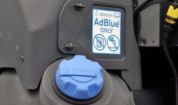 Отключение мочевины AdBlue
