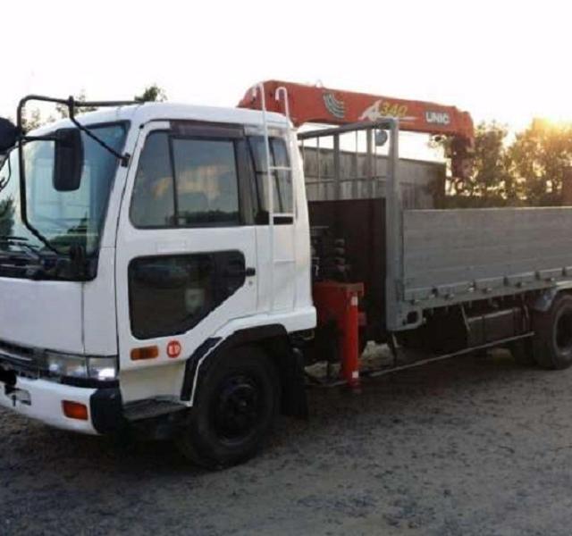 Прошивка грузовика NISSAN